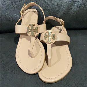 Tory Burch Evenly T-strap Flat